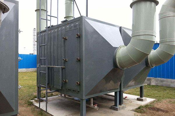 VOCs废气处理:活性炭吸脱附装置